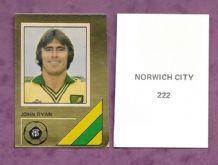 Norwich City John Ryan 222